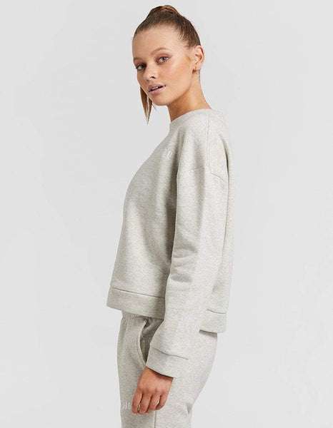 Jaggad Light Grey Space Dye Sweater