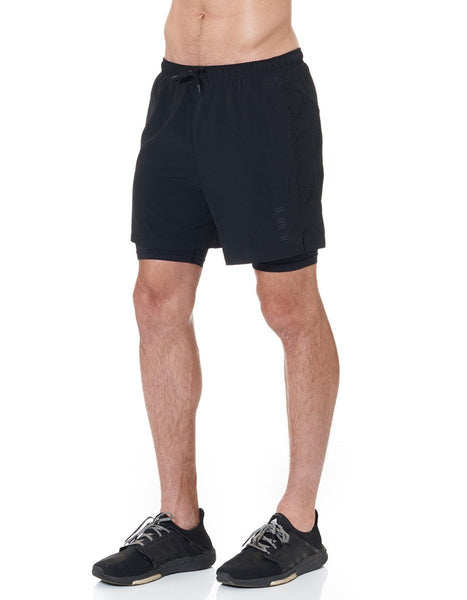 Jaggad Men's Mid Length Run Shorts