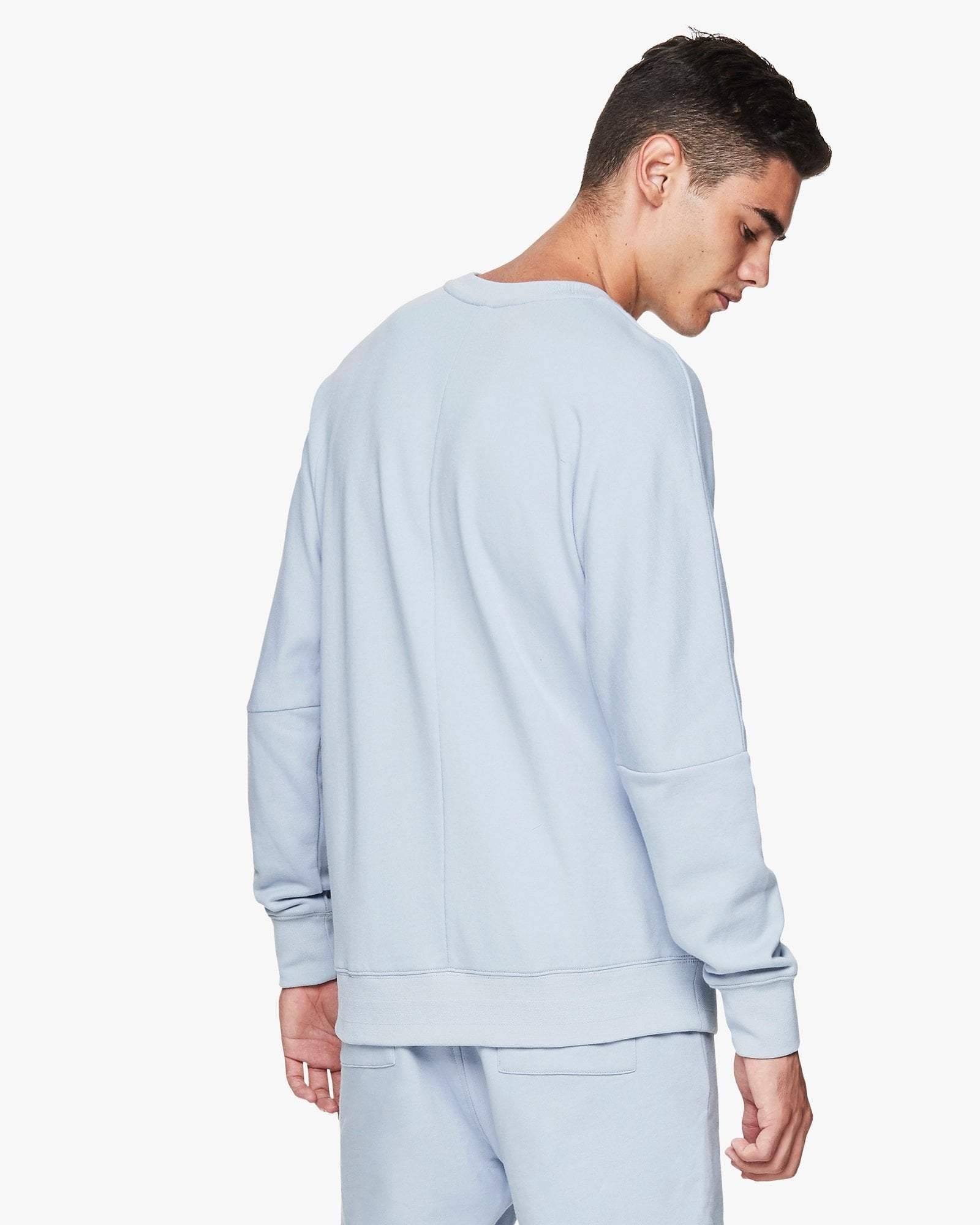Jaggad Pale Blue Crew-Neck Sweater