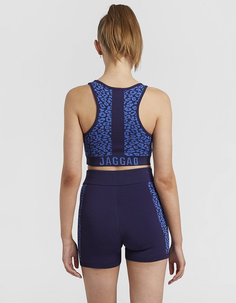 Jaggad Quartz Knit Yoga Crop