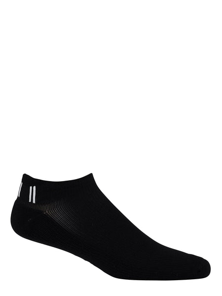Jaggad Women's Classic Black & White Ankle Socks - 2 Pack
