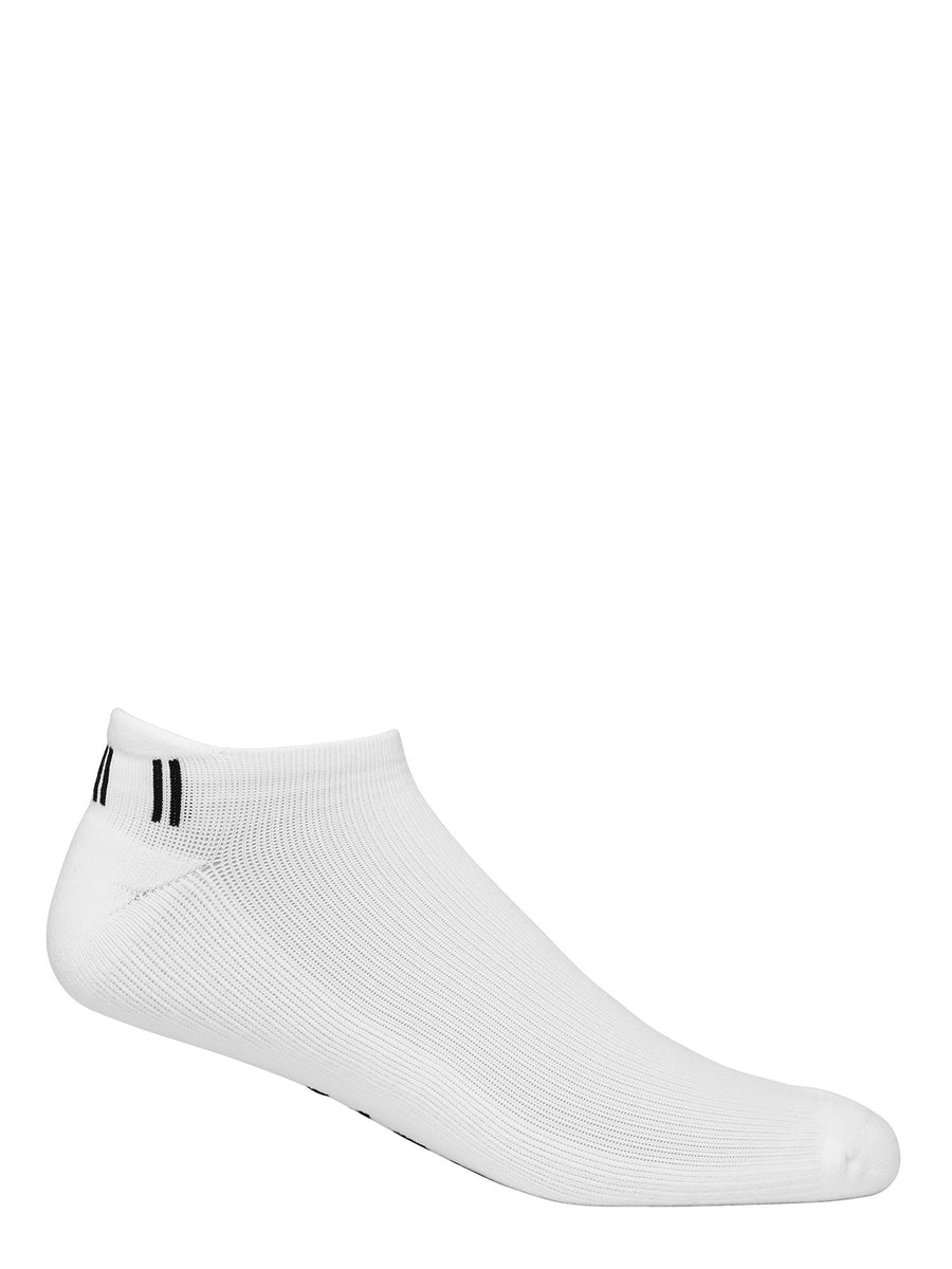 Jaggad Women's Classic White Ankle Socks - 2 Pack