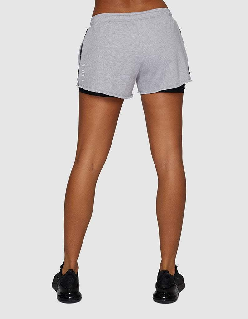 Sahara Layered Fleece Shorts