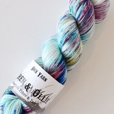 Wren and Ollie Sock Yarn 100gm - Utopia