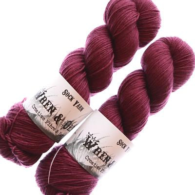Wren and Ollie Sock Yarn 100gm - Thistle