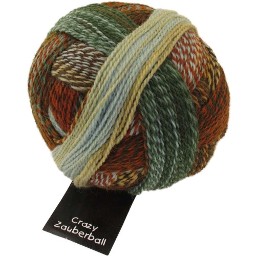 Crazy Zauberball Sock - River Bed 1660