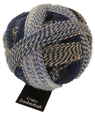 Crazy Zauberball Sock - Blue Break 2099