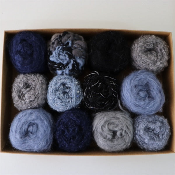 Adele's Magic Mohair Gift Pack - Blue Jeans