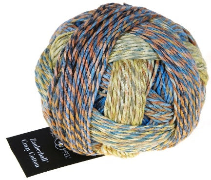 Crazy Zauberball 8ply Cotton - Primary Rocks 2366