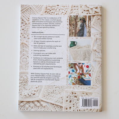 Books - Granny Square Flair or Siren's Atlas - by Shelley Husband