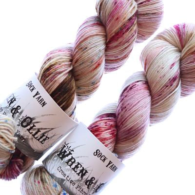 Wren and Ollie Sock Yarn 100gm - Smitten Kitten