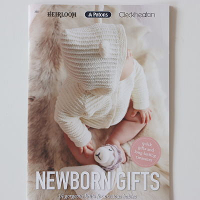 Newborn Gifts - 14 Knitting Patterns