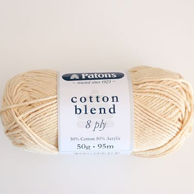 Calico Patons Cotton Blend