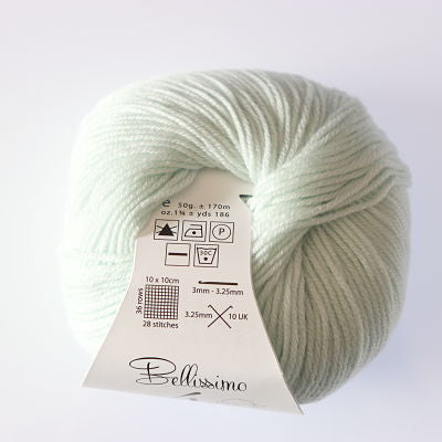 Bellissimo 4ply - Ice Green (414)