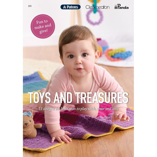 Patons Cleckheaton Toys and Treasures Booklet