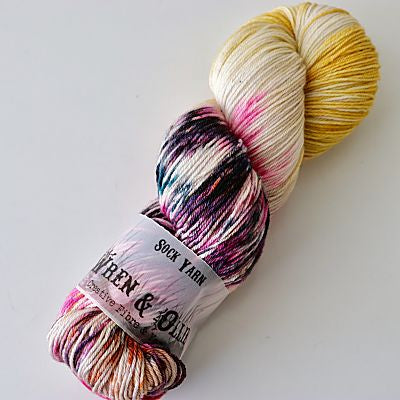 Wren and Ollie Sock Yarn 100gm - Cat''s Mepw