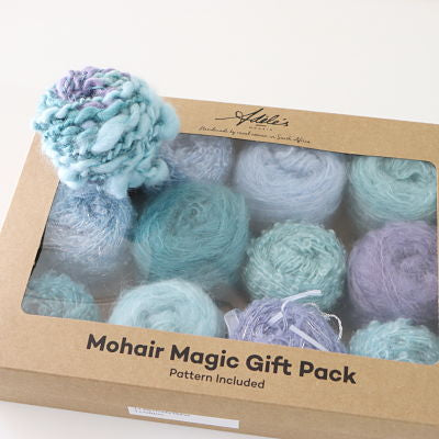 Adele's Magic Mohair Gift Pack - Yummy Yarn and co