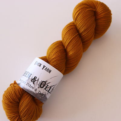 Wren and Ollie Sock Yarn 100gm - Caramel