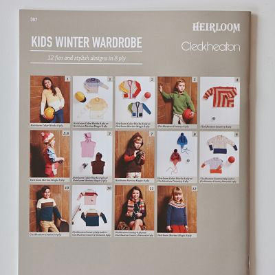 Kids Winter Wardrobe - Cleckheaton and Heirloom