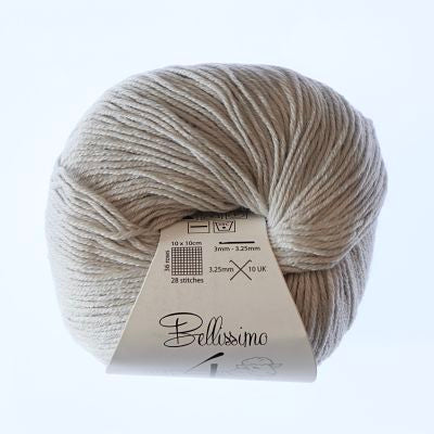 Bellissimo 4ply - Silver (405)