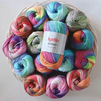 Katia Bombay Cotton 100gm Yummy Yarn and co