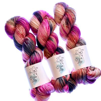 Fiber Lily Sock 100gm -  Bramble