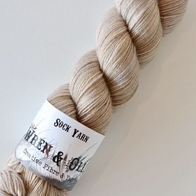 Wren and Ollie Sock Yarn 100gm - Wild Mushroom