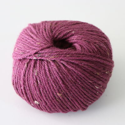 Heirloom Merino Fleck 8ply - Plum Wine 575