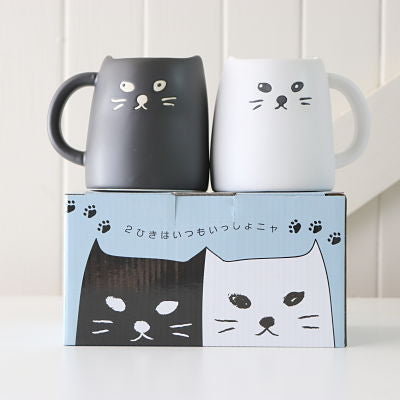 Ceramic Mugs - Cats and Bunnies