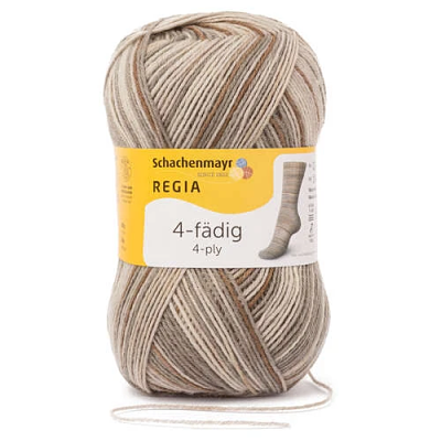 Schachenmayr - Regia Colour 4ply Sock Wool 100gm Stone Multi 7385