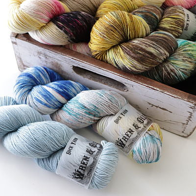 Wren and Ollie Sock Yarn 100gm - Yummy Yarn and co
