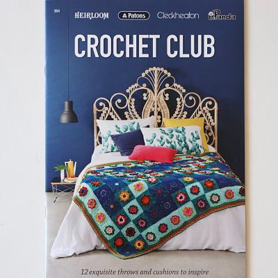 Crochet Club - 12 throws and cushions to inspire