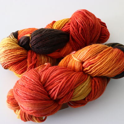 Maxima 10ply Worsted - Tiger Lily