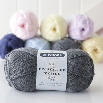 Patons Baby Dreamtime Merino 4ply 50gm
