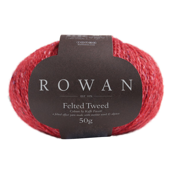 Rowan Felted Tweed - Scarlet 222