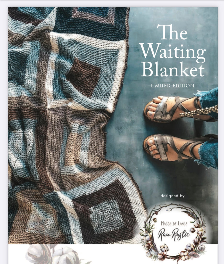 The Waiting Blanket - Crochet kit including pattern