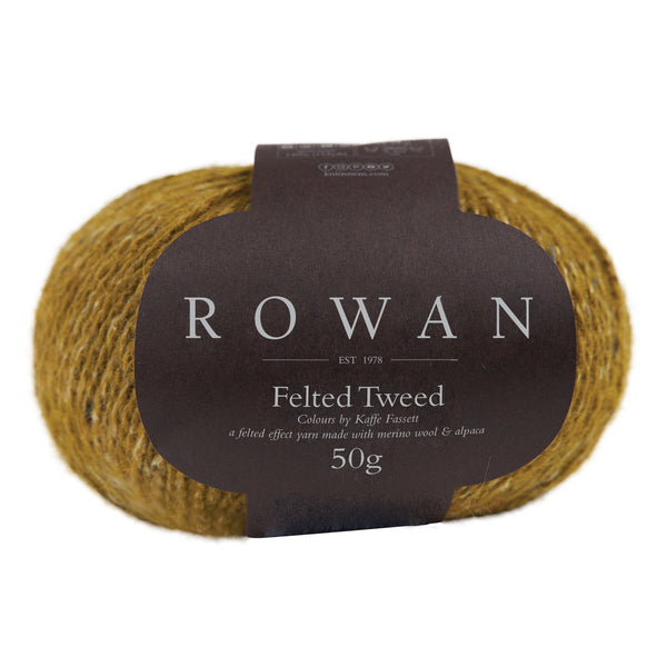 Rowan Felted Tweed - French Mustard 216