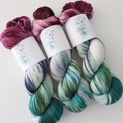 Fiber Lily Sock 100gm - Enchanted