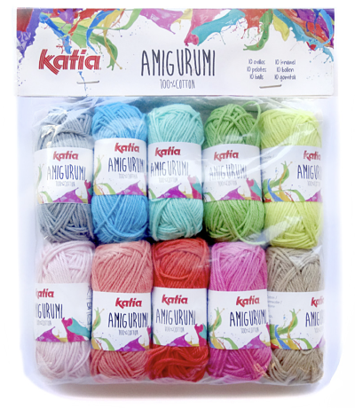 Katia Amigurumi 100% Cotton Mini Ball Pack