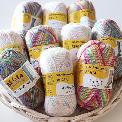 Schachenmayr - Regia Colour 4ply Sock Wool 50gm
