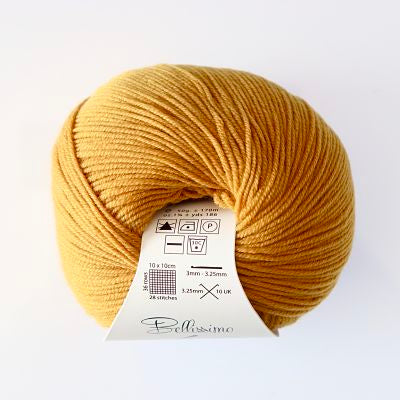 Bellissimo 4ply - Mustard (417)