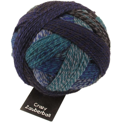 Crazy Zauberball Sock - Submarine 1511