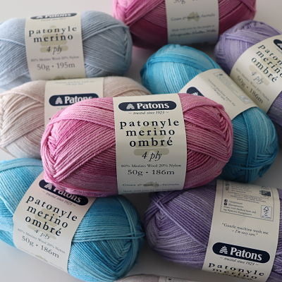 Patons Patonyle Merino (4ply/Fingering Weight)