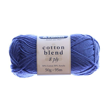 Galaxy Blue Patons Cotton Blend