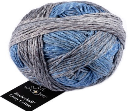 Crazy Zauberball 8ply Cotton - Sea and More 2390