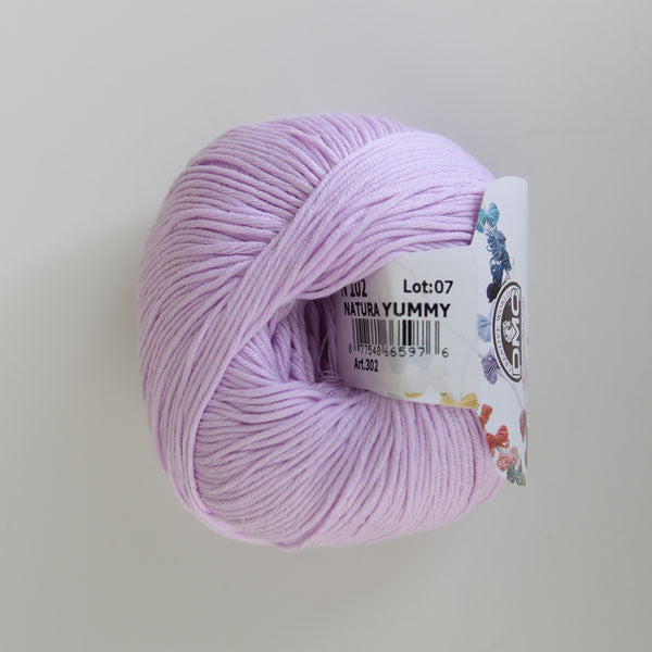 DMC Natura Just Cotton YUMMY (Fingering/4ply) - Yummy Yarn and co - 4