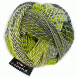 Crazy Zauberball Sock - Green Week 2204