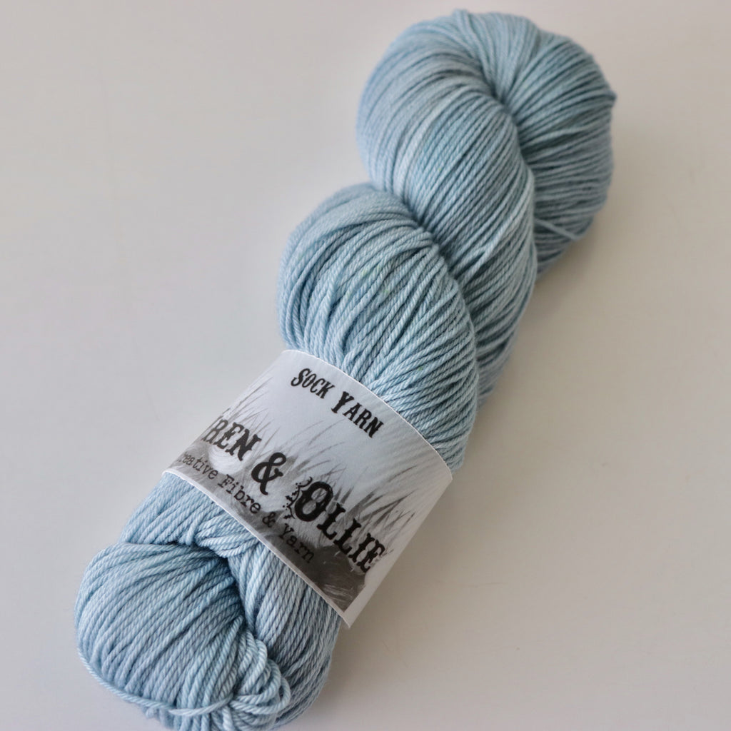 Wren and Ollie Sock Yarn 100gm - Pond