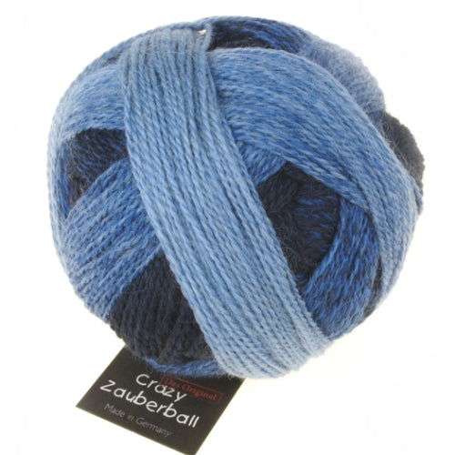 Crazy Zauberball Sock - Stone Washed 1535