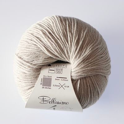 Bellissimo 4ply - Beige (404)